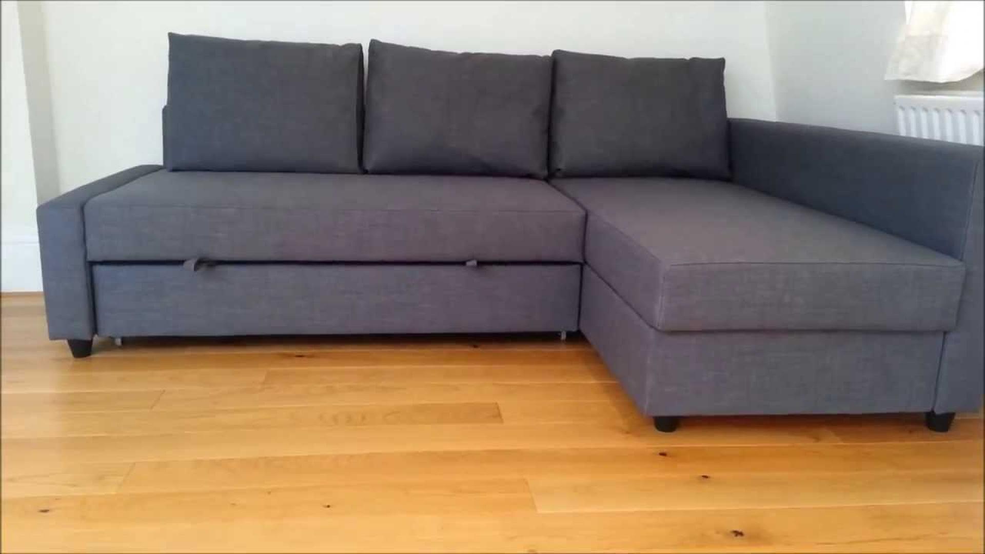 Canape Lit Gris Ikea Maison Mobilier Jardin