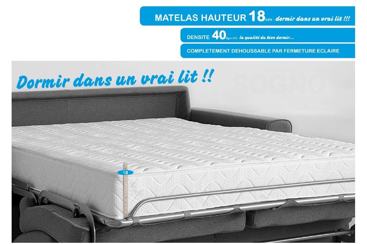 Canap lit couchage quotidien avis maison mobilier jardin - Lit convertible couchage quotidien ...
