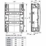 Coffret electrique 36 modules legrand