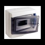 Coffret electrique etanche 8 modules