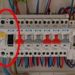 Tableau électrique différentiel