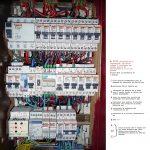 Tableau electrique aeg
