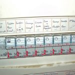 Tableau electrique avec disjoncteur différentiel