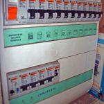 Tableau electrique plomb